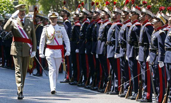 Los militares, el Rey y el Régimen del 78
