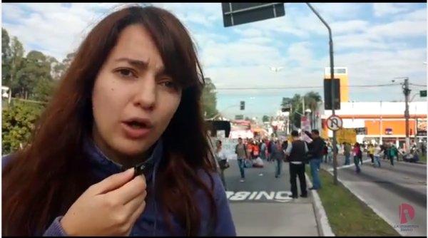 [VIDEO] Resumen de la jornada de huelga general en Brasil