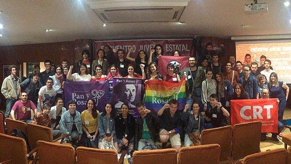 Nace Contracorriente: una juventud anticapitalista, antipatriarcal y revolucionaria