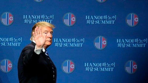 Final abrupto y sin avances para la segunda cumbre entre Trump y Kim Jong un