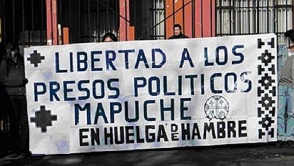 Denuncian golpiza y traslado forzoso a presos políticos mapuches en Chile