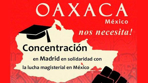 De Callao a Sol en solidaridad con la lucha de los maestros mexicanos