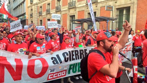 Dos dirigentes obreros de Coca-Cola a juicio por una protesta en Leganés