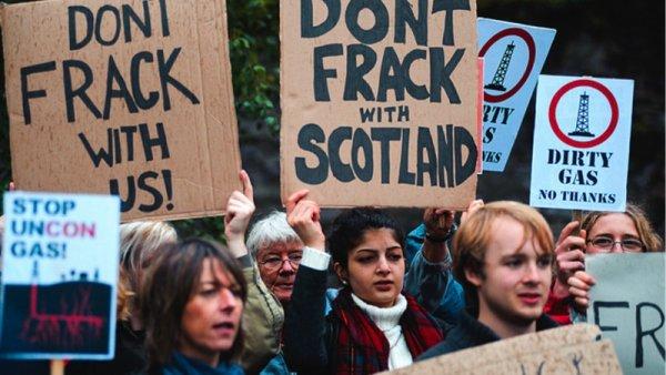 Tras consulta popular prohíben en Escocia el fracking petrolero
