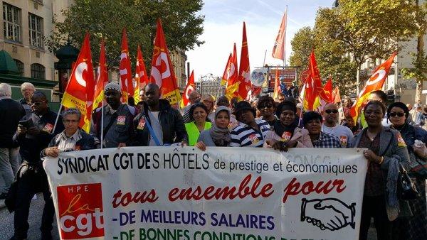 La lluita sense fronteres de les cambreres d'hotels: 44 dies de vaga de l'Hotel Holiday Inn de França