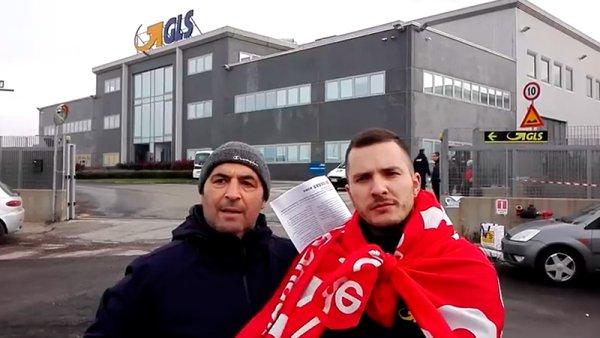 Trabajadores de la logística en Italia se solidarizan con la huelga de Amazon en Madrid