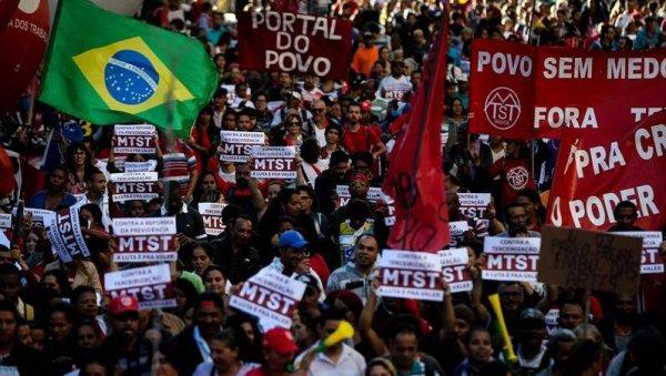 Brasil: miles en las calles contra los ataques de Temer