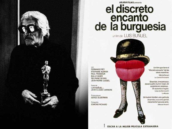 Buñuel: 'Nada me disgustaría más moralmente que recibir un Oscar...'
