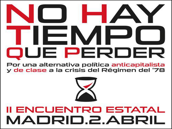 """""""No hay tiempo que perder"""": hacia la formación de un nuevo frente anticapitalista y de clase"""